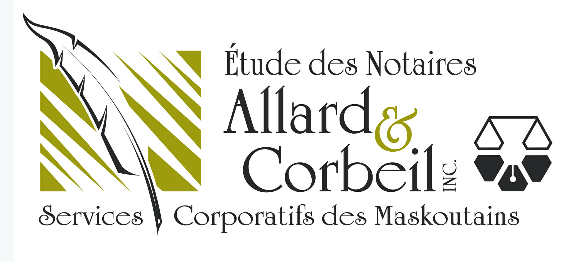 Étude des notaires Allard & Corbeil Inc - Logo