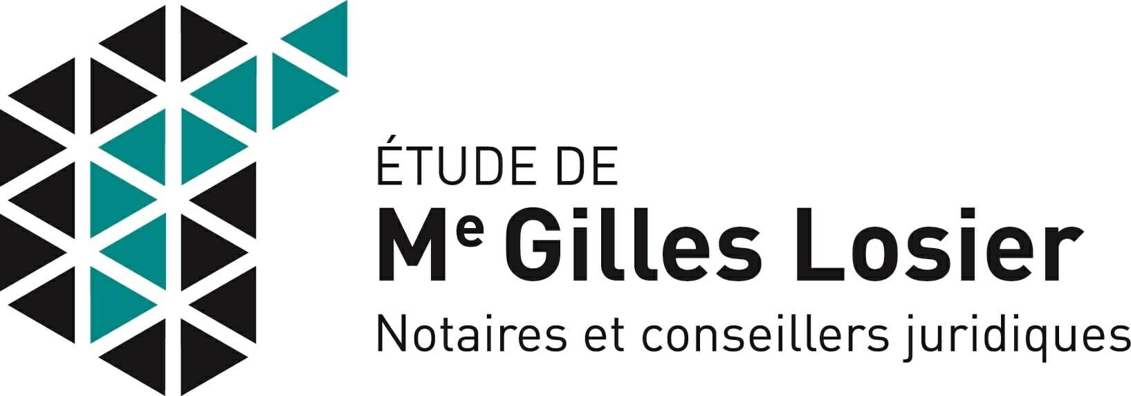 Étude de Me Gilles Losier, notaires et conseillers juridiques - logo