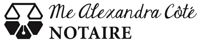 Alexandra Côté notaire Inc. - Logo