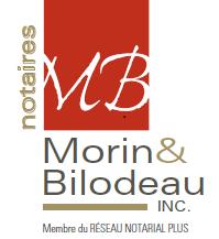 Morin & Bilodeau, notaires inc. - Logo