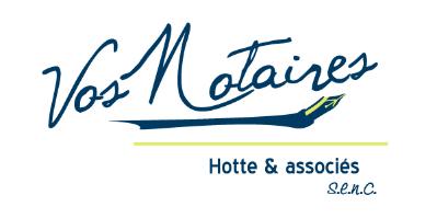 Vos notaires / Hotte & Associés s.e.n.c. - Logo